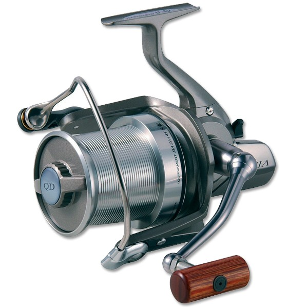 Катушка карповая Daiwa Basia Tournament Silver QD Only UK