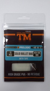 Пва пакеты Prologic TM PVA Solid Bullet Bag с ниткой 40x100 мм. 15 шт