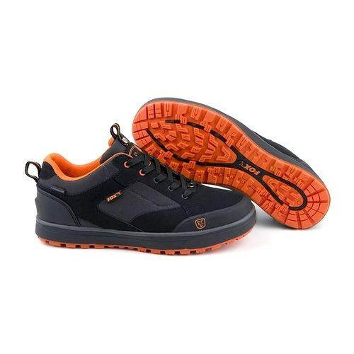Ботинки Fox Black Orange Trainers Shoe