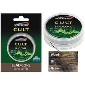 Лидкор Climax Cult Leadcore 10 м. Silt