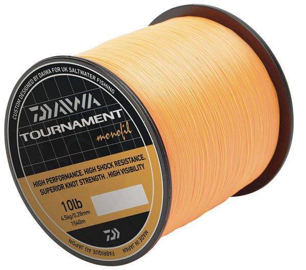 Леса Daiwa Tournament Monofil Orange 755 м. 0.40 мм. 8.1 кг