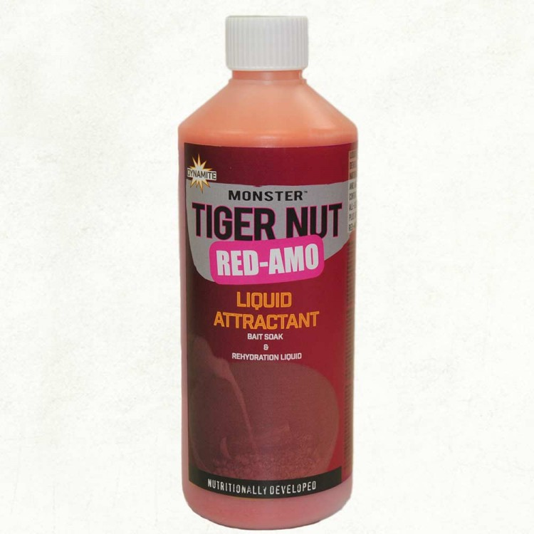 Ликвид Dynamite Baits Tiger Nut Red-Amo Liquid Attractant 500 м