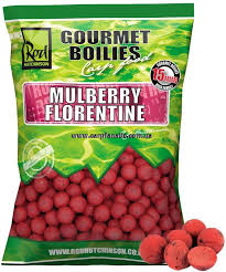 Бойлы Rod Hutchinson Boilies Mulberry Florentine With Protaste Plus 15 мм. 1 кг