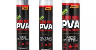 Пва система  Fox Edges PVA Mesh System Narrow Red Slow Melt 25 мм. 7 м