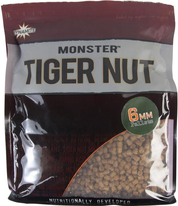 Пеллетс прикормочный Dynamite Baits pellet Monster Tigernut Pellets 6 мм. 900 гр