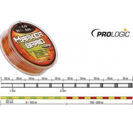 Маркерный шнур Prologic PL Marker Braid 200 м. 0.19 мм. 20 lb