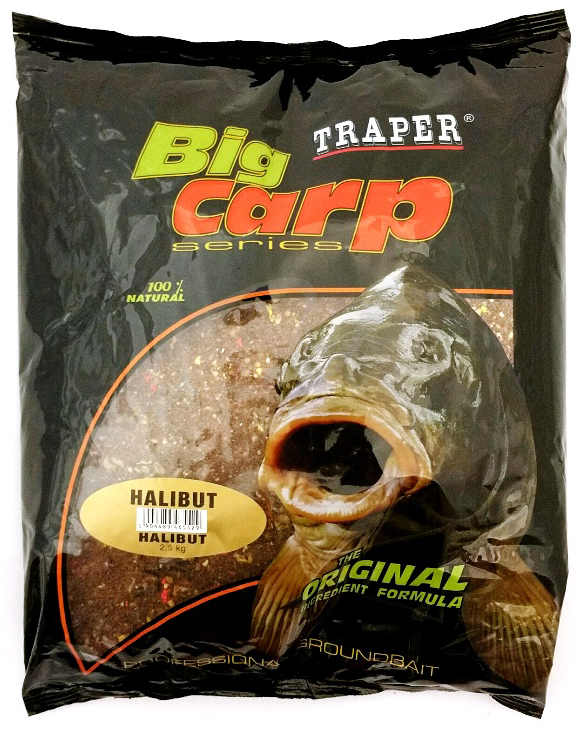 Прикормка Traper Big Carp Series Halibut 2.5 кг
