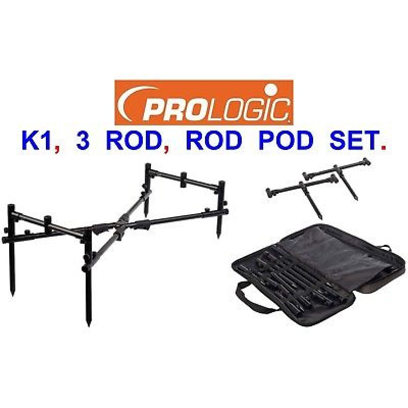 Род-Под Prologic K1 Rod Pod System 3 Rods Alu