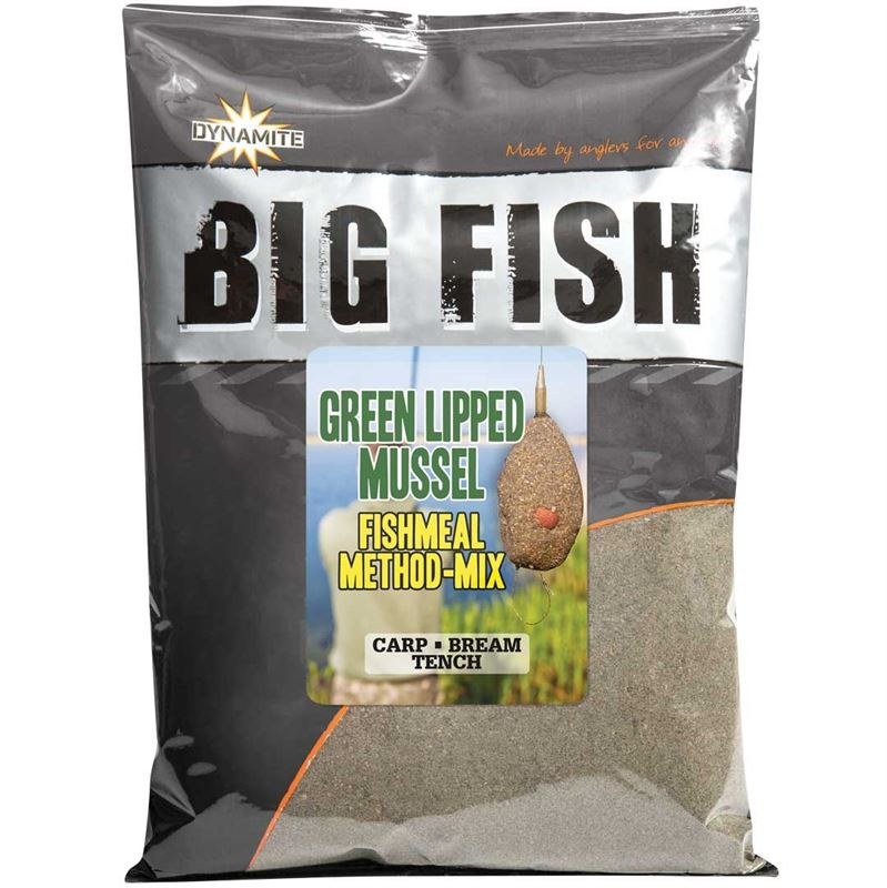 Метод микс Dynamite Baits Big Fish GLM Fishmeal Method Mix New 1.8 кг