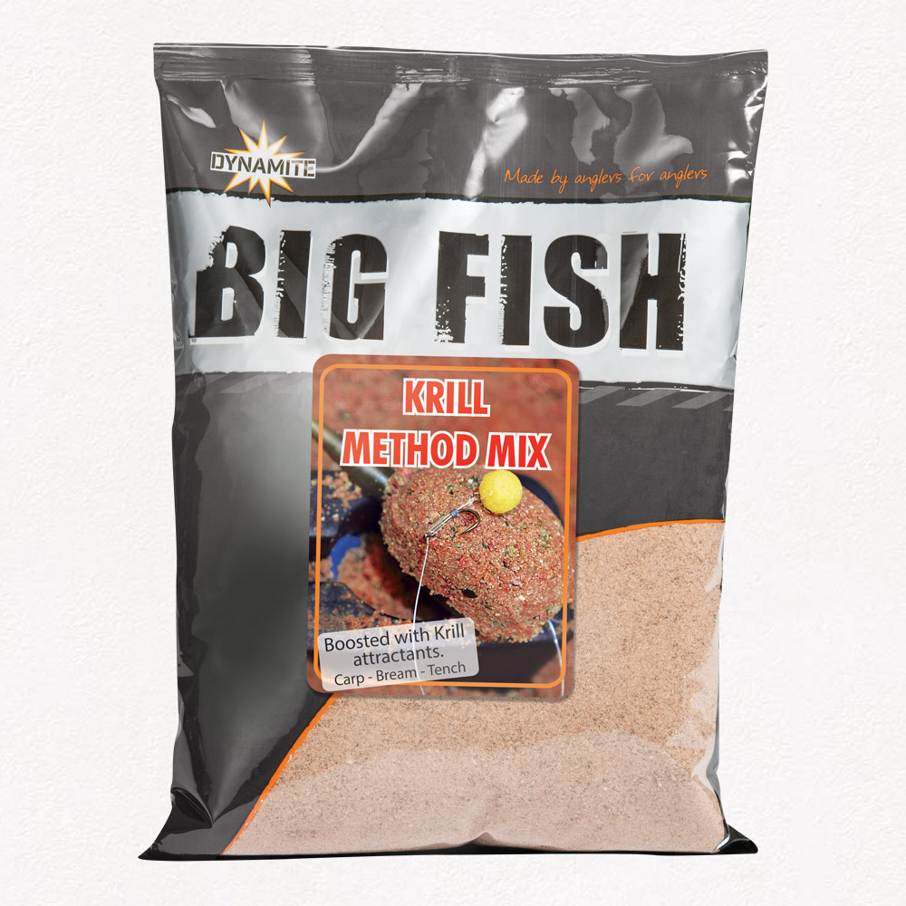 Метод микс Dynamite Baits Big Fish Krill Method Mix New 1.8 кг