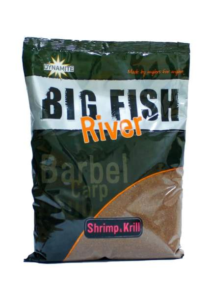 Прикормка Dynamite Baits Big Fish River Groundbaits Shrimp Krill New 1.8 кг