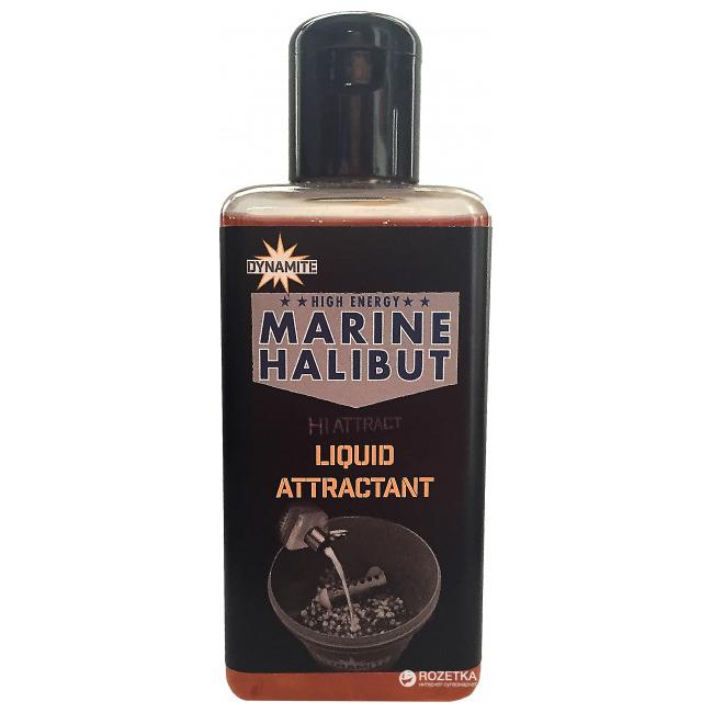Ликвид Dynamite Baits Marine Halibut Liquid Attractant New 250 мл