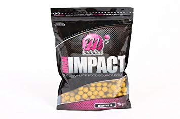 Бойлы донные  Mainline High Impact Boilies Banoffee 20 мм. 1 кг
