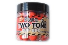 Бойлы Поп-ап Dynamite Baits Two Tone Strawberry Coconut Cream Fluro Pop-Up 15 мм