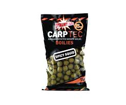 Бойлы донные Dynamite Baits Carptec Spicy Squid 20 мм. 2 кг