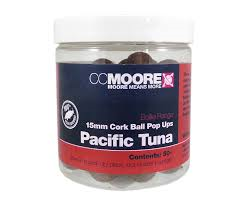 Бойлы Поп-ап CC Moore Pacific Tuna Cork Ball Pop Ups 15 мм. 35 шт