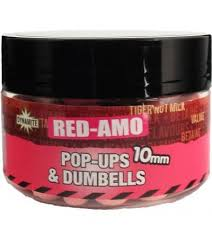 Бойлы поп-ап Dynamite Baits Pop Up Dumbel Red-Amo 10 мм