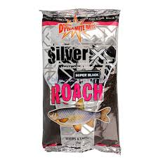 Прикормка Dynamite Baits Silver X Roach Groundbait Super Black 1 кг