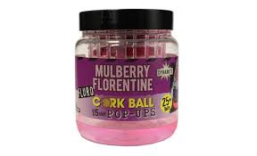 Бойлы поп-ап Dynamite Baits Pop-Ups Corkball Fluro Purple Mulberry 15 мм