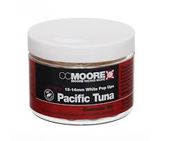 Бойлы Поп-ап CC Moore Pacific Tuna White Pop Ups 13-14 мм. 35 шт