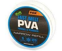 Пва сетка Fox Edges PVA Mesh Refills Blue Fast Melt Narrow 25 мм. 5 м