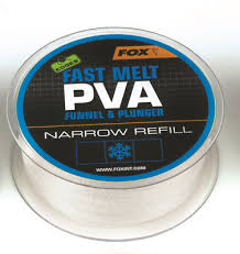 Пва сетка Fox Edges PVA Mesh Refills Blue Fast Melt Narrow 20 мм. 20 м