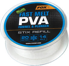 Пва сетка Fox Edges PVA Mesh Refills Blue Fast Melt Stix 14 мм. 20 м