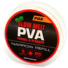 Пва сетка Fox Edges PVA Mesh Refills Red Fast Melt Narrow 25 мм. 5 м