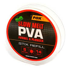 Пва сетка Fox Edges PVA Mesh Refills Red Fast Melt Stix 14 мм. 5 м