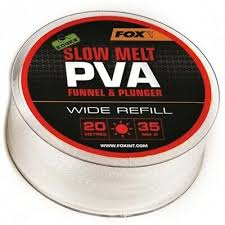 Пва сетка Fox Edges PVA Mesh Refills Red Fast Melt Wide 35 мм. 20 м
