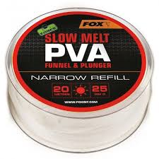 Пва сетка Fox Edges PVA Mesh Refills Red Fast Melt Narrow 25 мм. 20 м