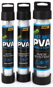 Пва система Fox Edges PVA Mesh System Narrow Blue Slow Melt 25 мм. 7 м
