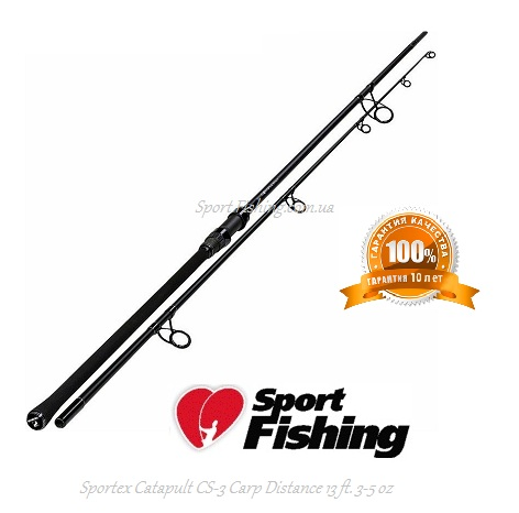 Удилище карповое Sportex Catapult CS-3 Carp Distance 13 ft. 3-5 oz