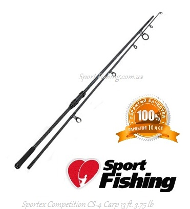 Карповое удилище Sportex Competition CS-4 Carp 13 ft. 3.75 lb