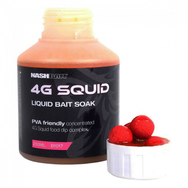 Дип Nash 4G SQUID BAIT SOAK