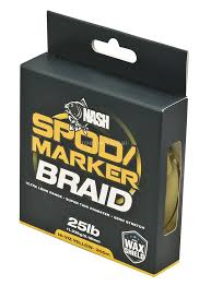 Шнур маркер спод Nash Spod and Marker Braid Hi-Viz Yellow 25 lb.18 мм. 300 м