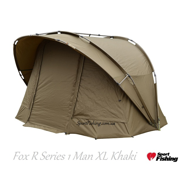 Карповая палатка Fox R Series 1 Man XL Khaki