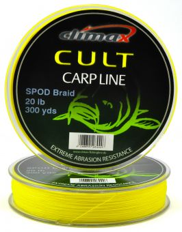 Сподовый шнур Climax Cult Spod Braid Yellow 0.16 мм. 20 lb. 274 м