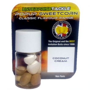 Кукуруза Enterprise Tackle Classic Pop Up Range Coconut Cream