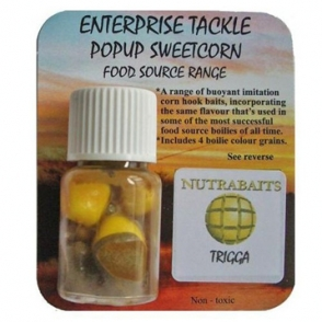 Кукуруза Enterprise Tackle Classic Pop Up Nutrabaits Trigga Yellow
