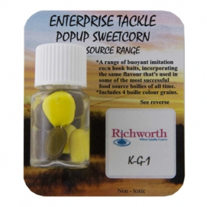 Кукуруза Enterprise Tackle Pop Up Richworth KG1 Yellow
