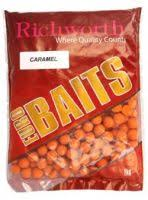 Бойлы донные Richworth Euro Baits Caramel 14 мм. 1 кг