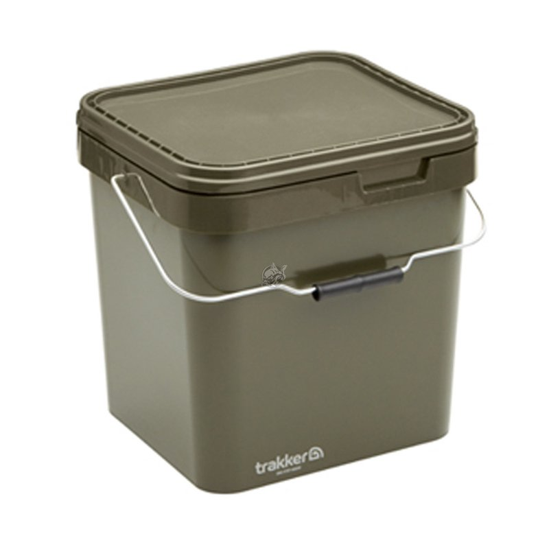 Ведро Trakker Olive Square Container 17 л