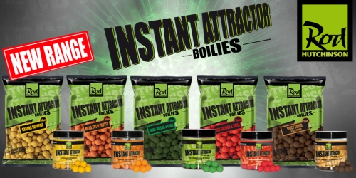 Бойлы Rod Hutchinson Instant Attractor Boilies Banana Supreme 20 мм. 1 кг