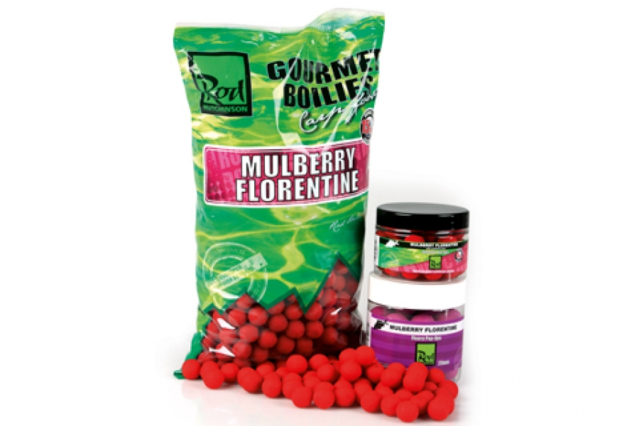 Бойлы Rod Hutchinson Boilies Mulberry Florentine With Protaste Plus 20 мм. 1кг