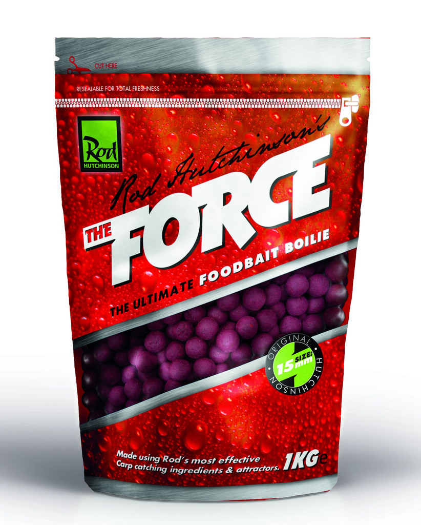 Бойлы Rod Hutchinson Boilies The Force Food Bait 15 мм. 1 кг